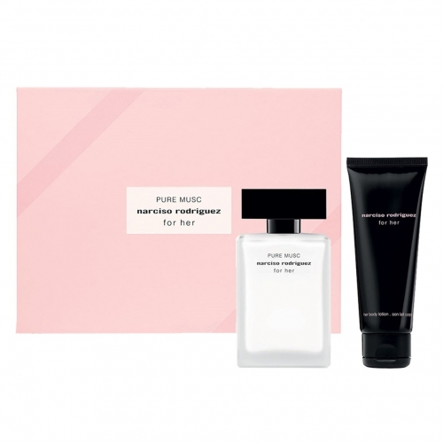 בושם לאשה Narciso Rodriguez For Her E.D.T 50ml + קרם גוף 75ml