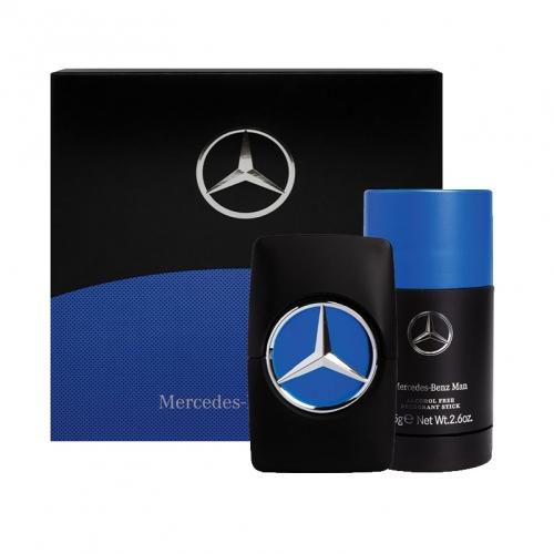 Mercedes men star סט א.ד.ט + דאודורנט סטיק לגבר