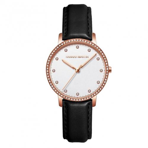 שעון עור Hannah Martin לנשים Hm7011