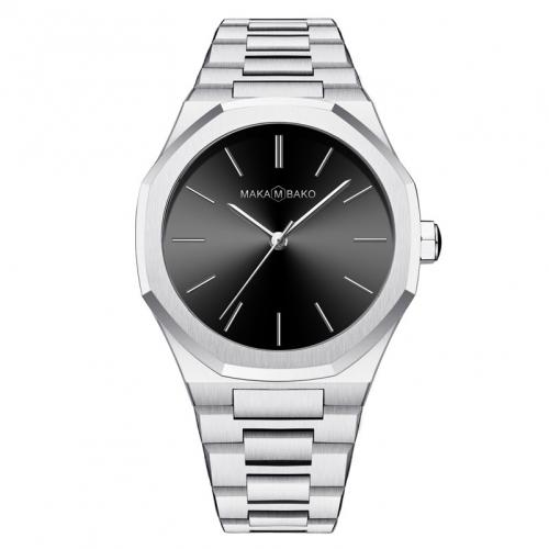 שעון Maka M Bako לגבר Mb3103 כסף